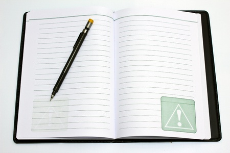 Book of Pencil Stock Photo - 14724315