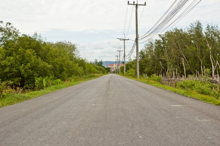 Street Road of thai Stock Photo - 14841742