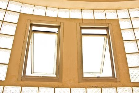 akademik: Okno wieloosobowym Zdjęcie Seryjne