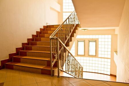 Dormitory stairs  photo