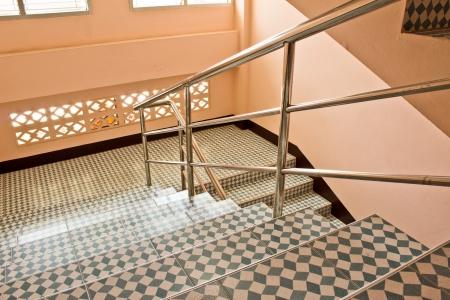 akademik: Akademik schody Zdjęcie Seryjne