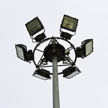 Street light pole  Stock Photo