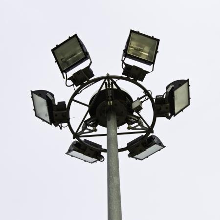 Street light pole  Standard-Bild