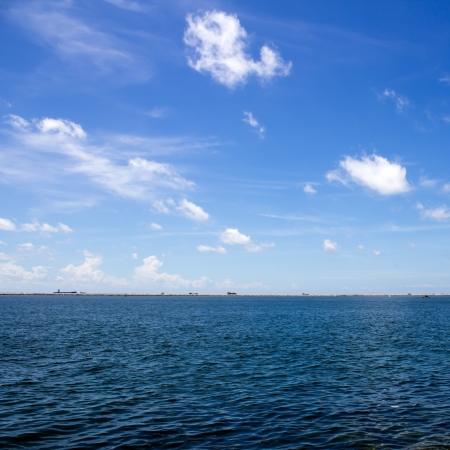 sea and perfect sky for the water Stock Photo - 15691241
