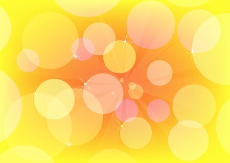 Abstract circle vector design with multicolored Vector
