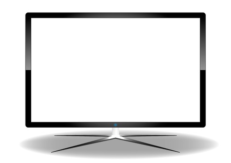LED Television Stock Vector - 17012250