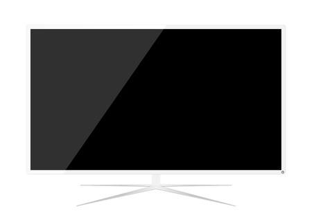 LED Television  Stock Vector - 17012245
