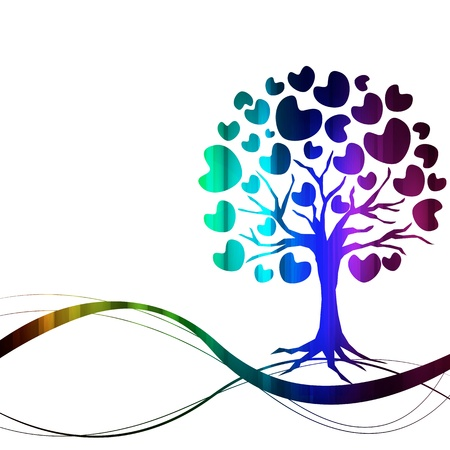 vector of abstract tree icon Stock Vector - 17090793