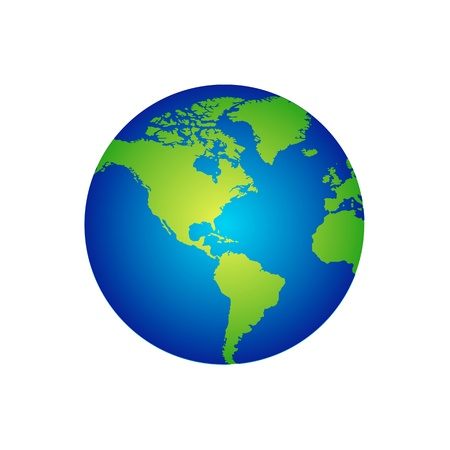 Vector Abstract globe