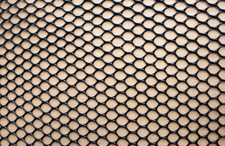 Soccer Net on Black as Design Stock Photo - 17841352