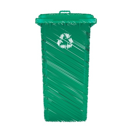 Recycle bin Stock Photo - 17841316