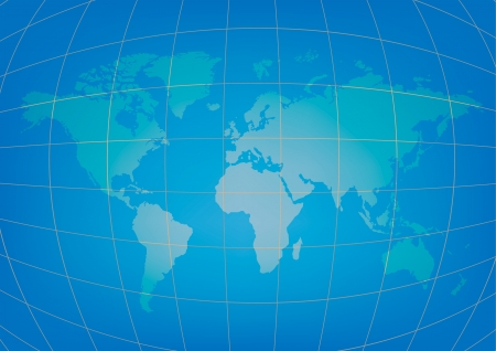 World map of vector Vector