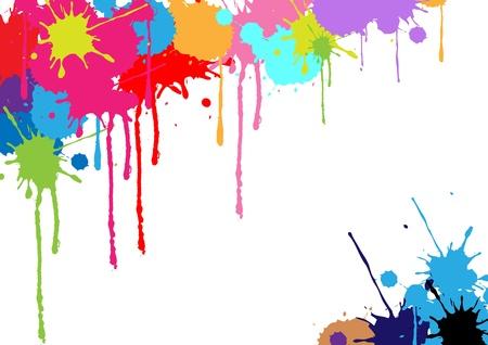 abstract stripe background design Illustration