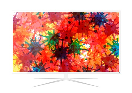 LED Television - Vector Design Vector