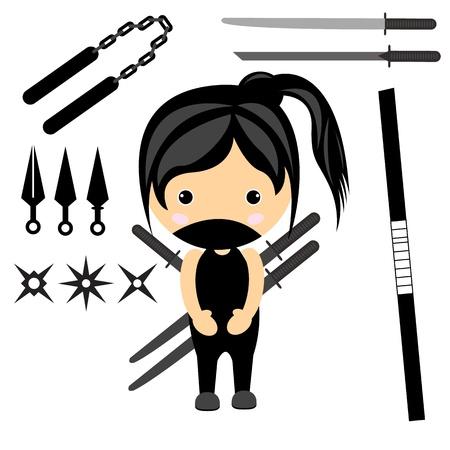 cartoon character ninja