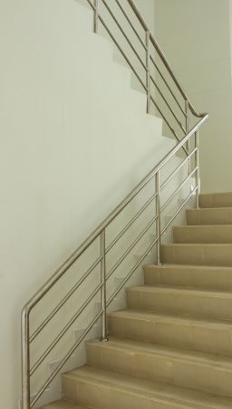 Staircase in the office with emergency light. Stock Photo - 21921849