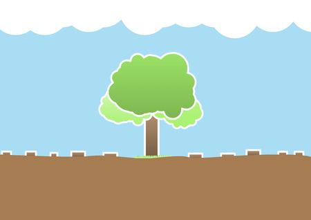 stuffy: Deforestation  Illustration