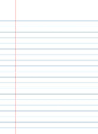 notebook papier