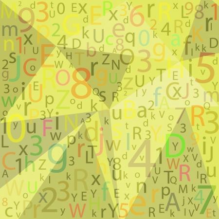 ABC Designed background.