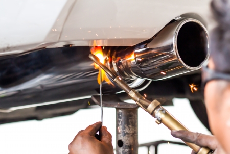 Cars pipe installation