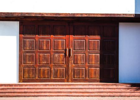 Antique door photo
