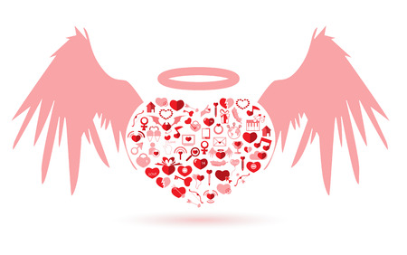 The Angel Valentines day, Love icon