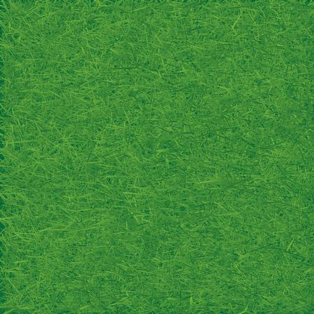 speelveld gras: Groen grasveld. Naadloze vector. Stock Illustratie