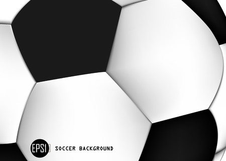 Abstract Background of soccer ball pattern design- vector