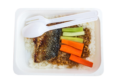 bento: bento, Thailand packed lunch Stock Photo