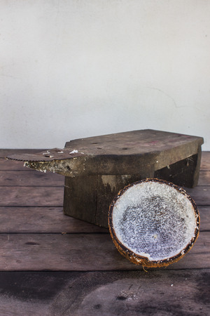 handmade fresh coconut photo