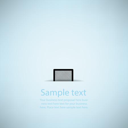soccer goal: Creative soccer goal Vector Design Illustration
