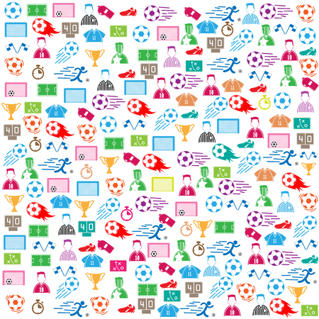 goal cage: soccer background icon color.