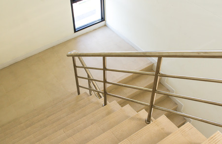 stairwell in a modern building photo