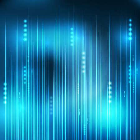 telecoms: abstract Blue light technology communicate background, vector illustration Illustration