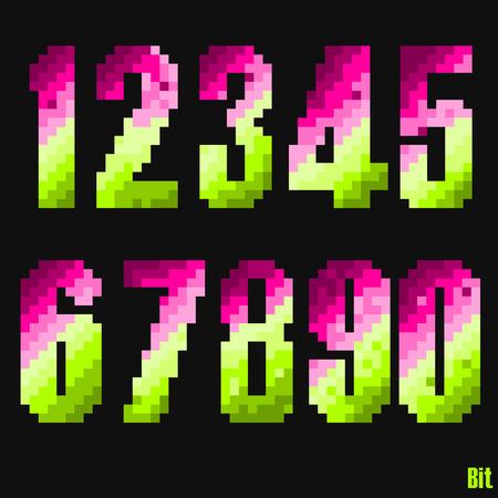 8 bit: establecer el estilo de n�mero de 8 bits