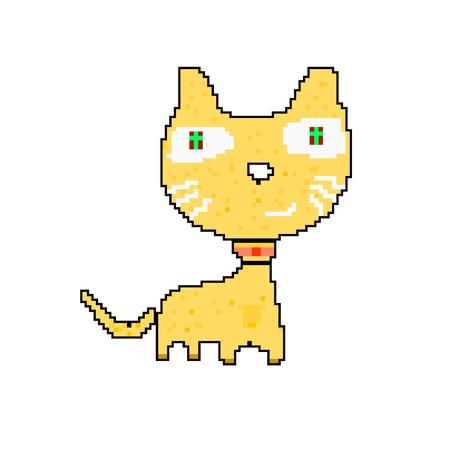 8 bit: estilo del gato de 8 bits y p�xeles