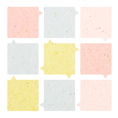 Modern soft color Design template of paper photo