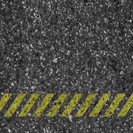 asphalt texture: Danger arrows on asphalt texture.