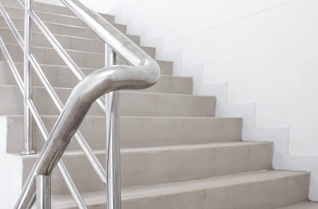 stairwell: stairwell in a modern building