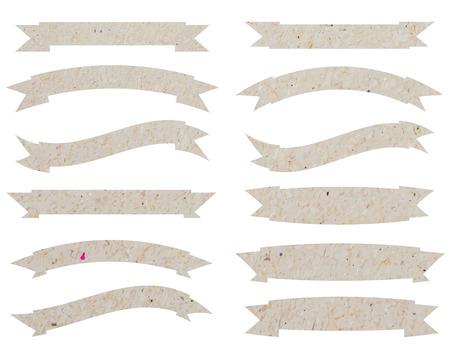 paper ribbons, illustration vector Illustration