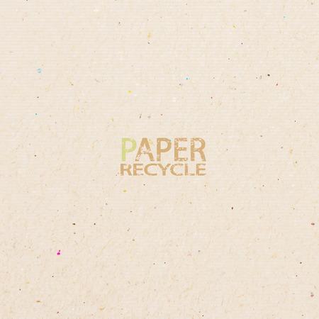palo de artesanía de papel reciclado en fondo blanco