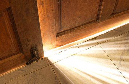 open door light Stock Photo