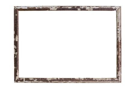 tableau: Vintage picture frame wood and old