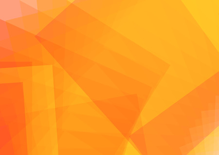 orange background: Abstract illustration with Rectangle.  Illustration