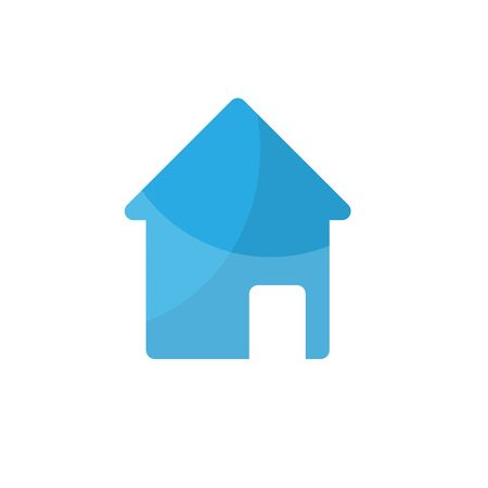 homestead: Home icon on white