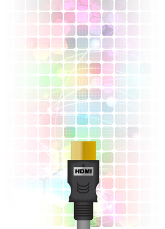 hdmi: HDMI Size of abstract Technology