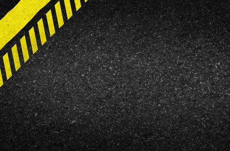asphalt texture: Danger arrows on asphalt texture. illustration vector