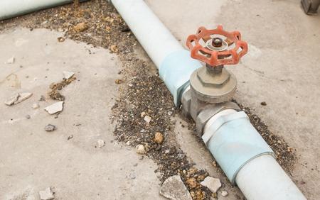 valve: water valve old