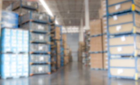 factory warehouse for appearance blur