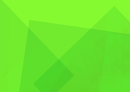 Abstract green illustration with Rectangle. vector illustration